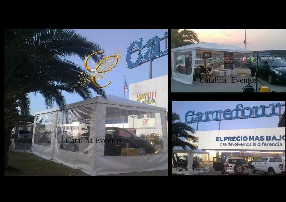 CATALINA EVENTOS 12 CUOTAS SIN INTERES !! ALQUILER DE CARPAS GAZEBOS EN PUNILLA