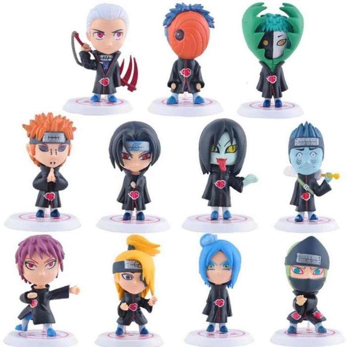 Nueva Coleccion Figuras Naruto 8 Cm