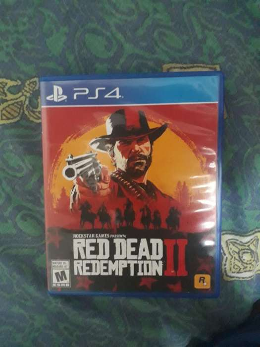 Vendo Red Dead Redemtion para Ps4
