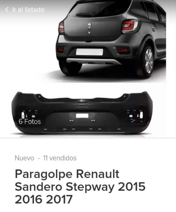 Paragolpe Renault Sandero Stepway