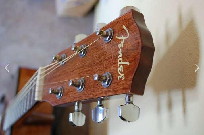 Guitarra Acústica Fender Cd60 Sb C/ Estuche Original