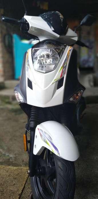 Moto Twist Kymco modelo 2019 como <strong>nueva</strong>!!!
