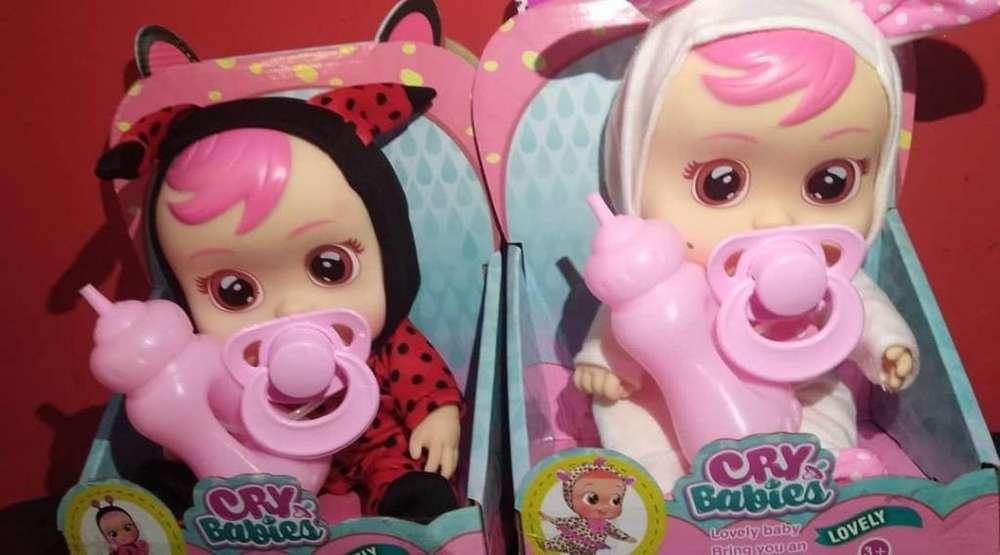 CRY BABIES GRANDE DE 15 CM Nuevo