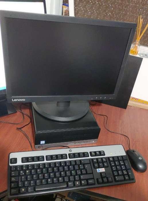Cpu Hp Core I7 6700 Sexta Ssd 120 Webcam