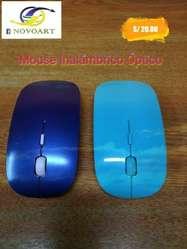 Mouse Inalámbrico Óptico Buen Diseño