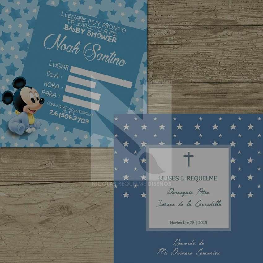 Tarjetas De Invitacion Personalizadas Otros Servicios