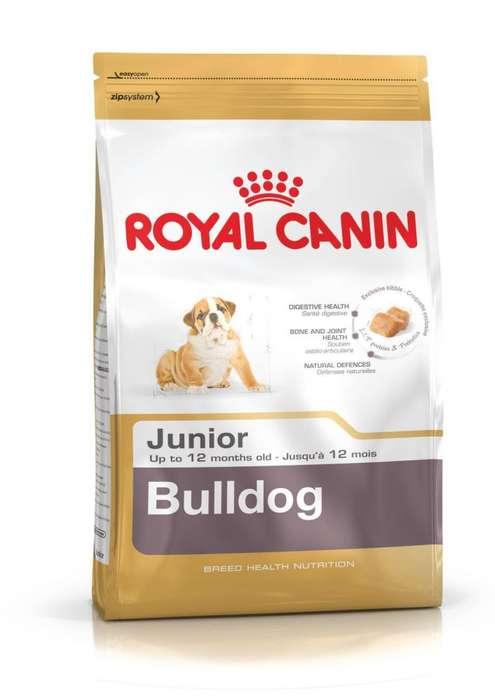 Royal Canin Bulldog Junior 12 Kg a 330.00