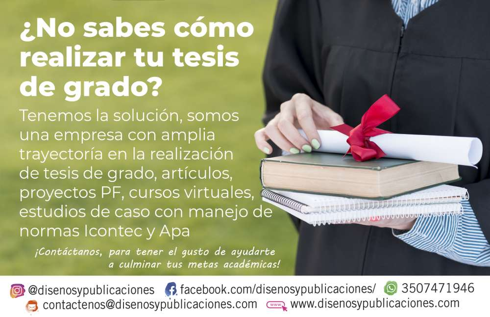 SERVICIO DE ASESORÍA DE TESIS DE GRADO O CURSOS VIRTUALES