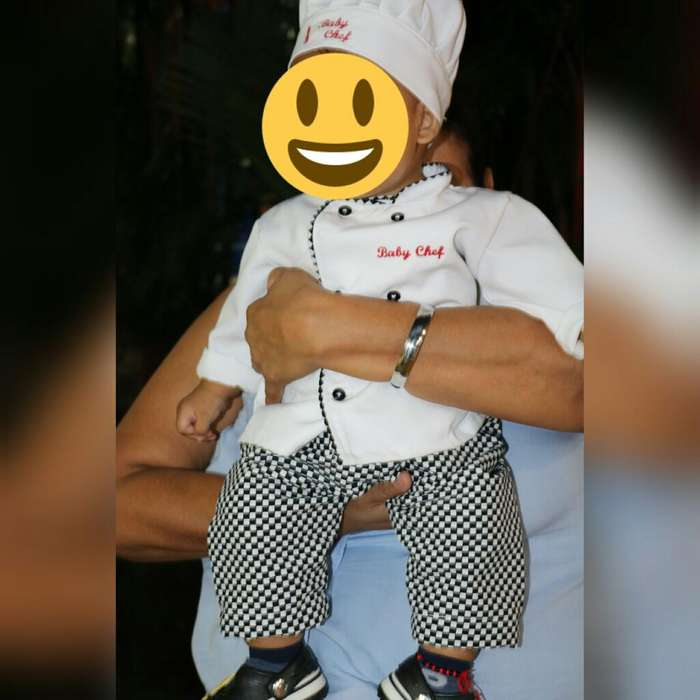 Disfraz de Baby Chef