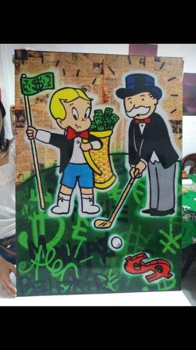 Cuadro Tío Rico Monopoly