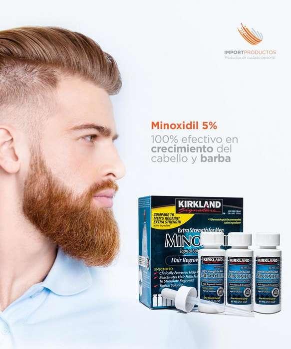 Minoxidil 5 Cabello y Barba a domicilio 3203276284 recoje en chapinero