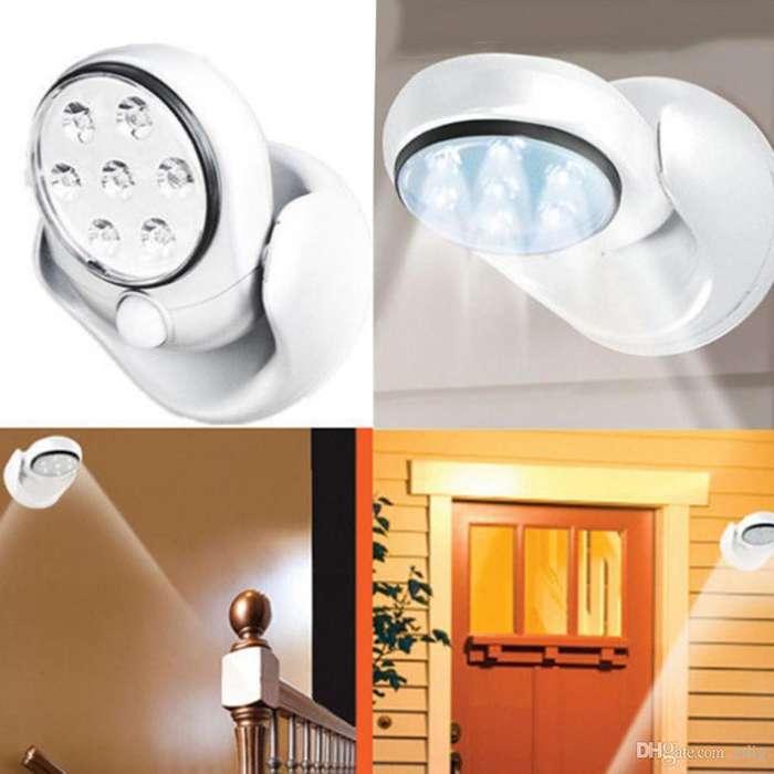 Luz Sensor de Movimiento Led Impermeable