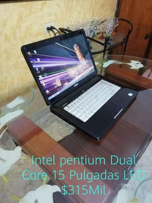 Dell 15 Pulgadas LED Intel Dual Core 4Gb Ram