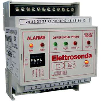 53500 / ED110,C. de nivel hasta 7 electrodos Sens. ajustable