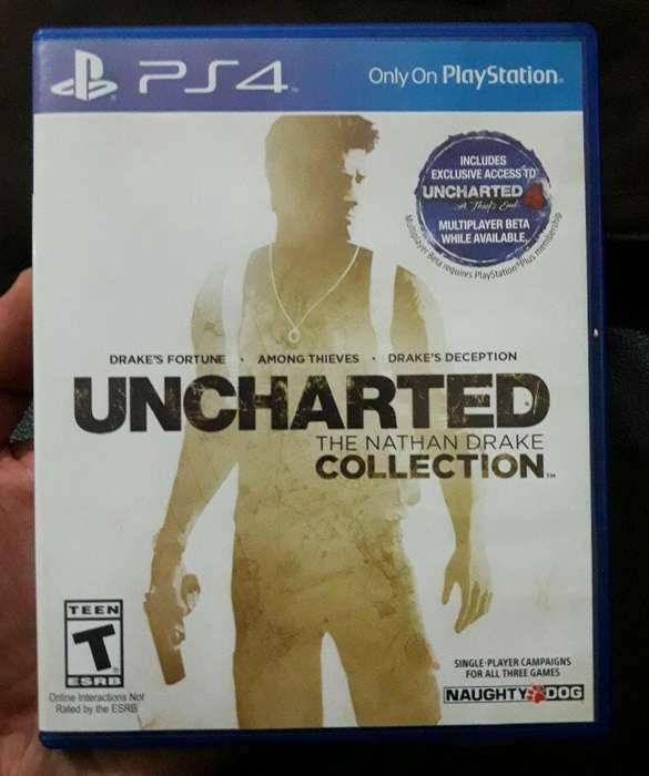 Juego Uncharted Coleccion Ps4 S/.40