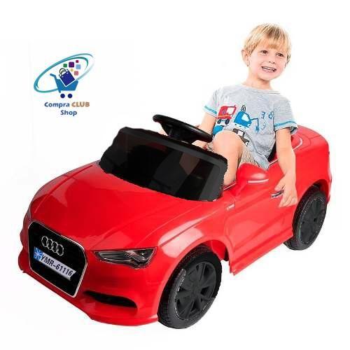 Auto electrico recargable a batería Audi a control remoto