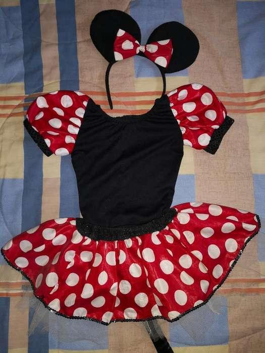 Disfraz Minnie Mouse Talla 2