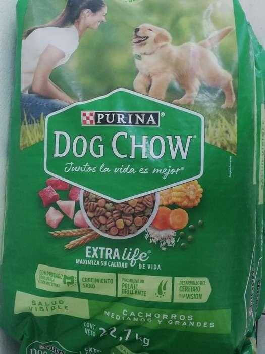 Dog Chow 22.7kg Cachorro Raza Grande