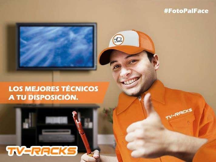 Servicio de Instalación de Soportes y Racks para TV Curvo, led, UHD, LCD y Plasma