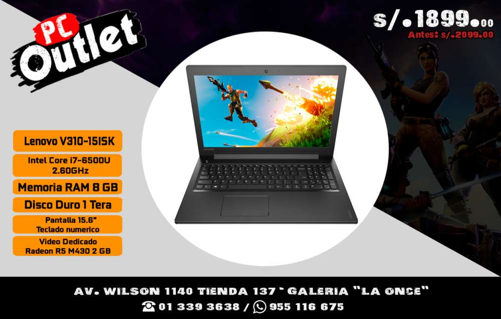Laptop Lenovo V31015ISK Core i7 video 2gb radeon