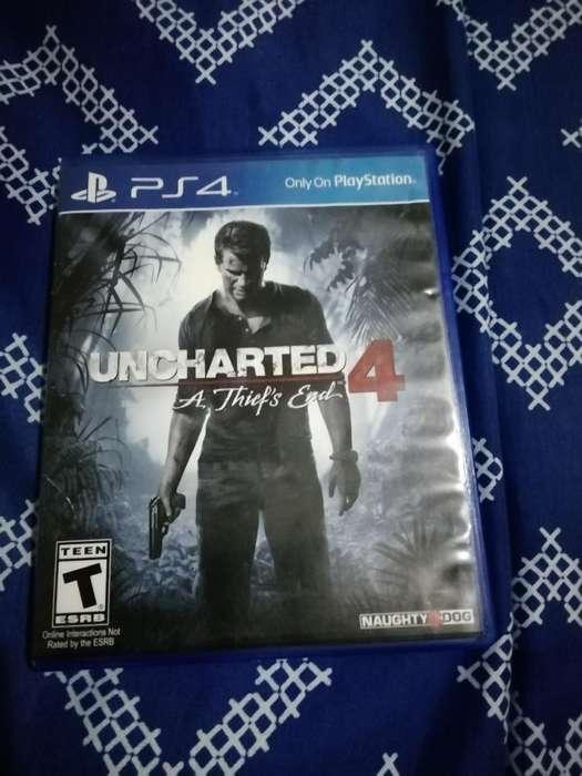 Vendo Juego de Play 4. Uncharted 4