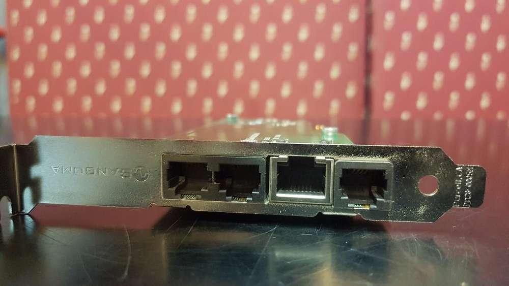Telefonía Ip Sangoma, 1 E1, 4 Fxo, 1 Fxs