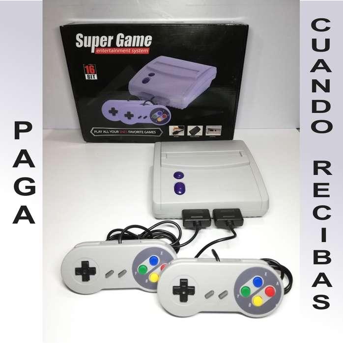 consola SUPER GAME 16 Bit 64 Games