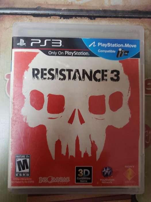 Liquido Juego Play 3 Original Resistance