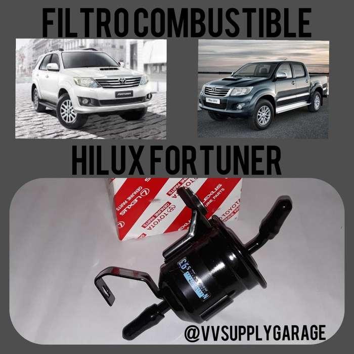 Filtro Combustible Gasolina Original Toyota Hilux Fortuner