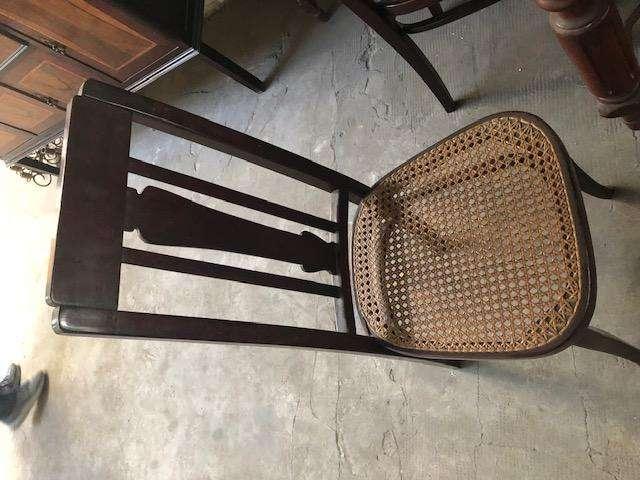 Vendo 6 sillas con esterilla: