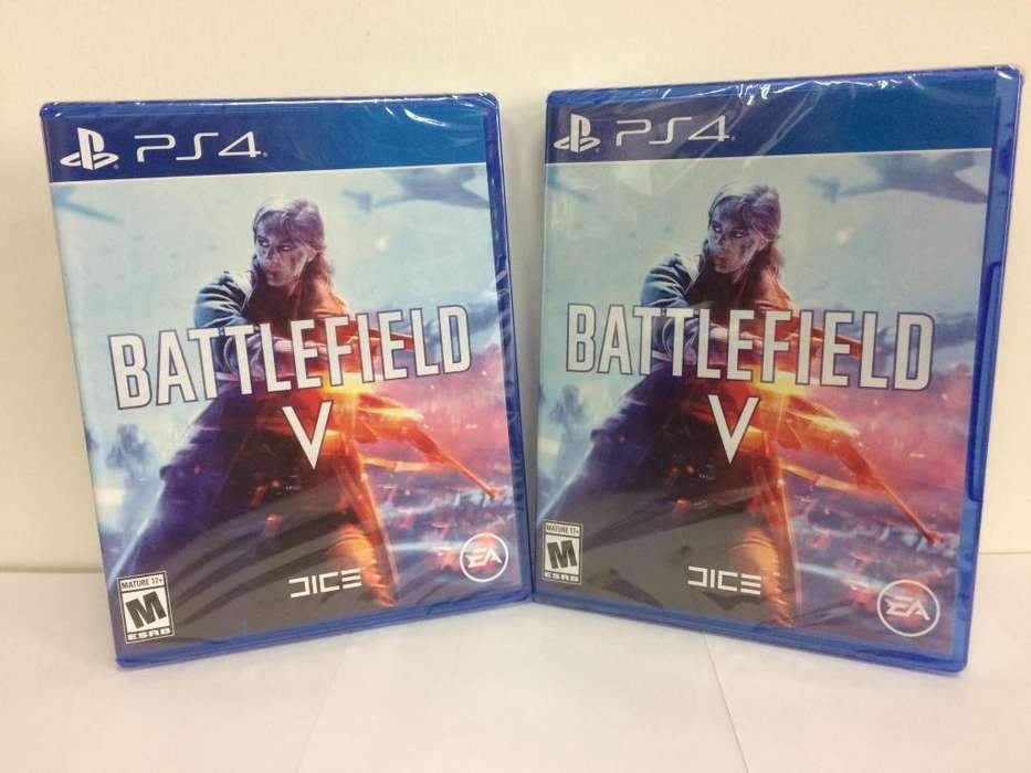 Juegos Ps4 Originales Battlefield V