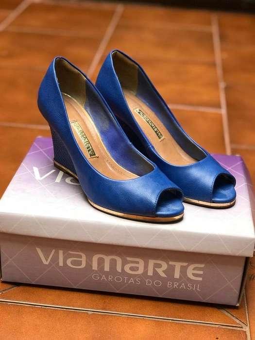 Zapato de <strong>mujer</strong> Azul
