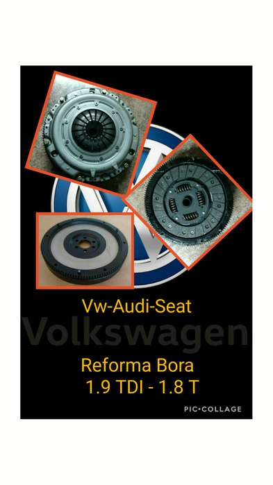 Kit Reforma Del Embrague Bora 1.9 1.8t