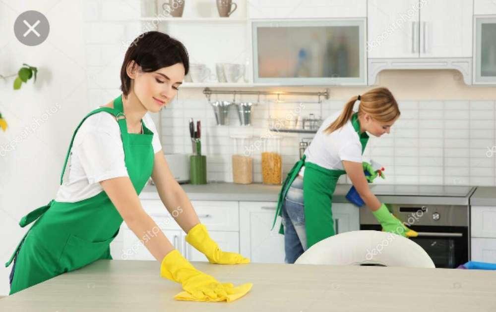 Solicite Equipo Limpieza