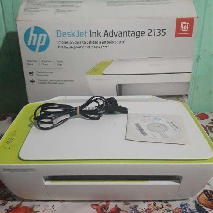 Impresora Deskjet Ink Advantage 2135