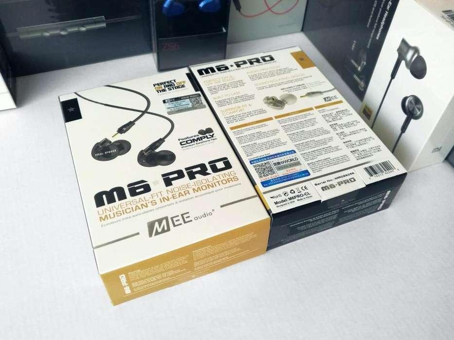 Auriculares MEE Audio M6 Pro Audífonos Monitor Micro