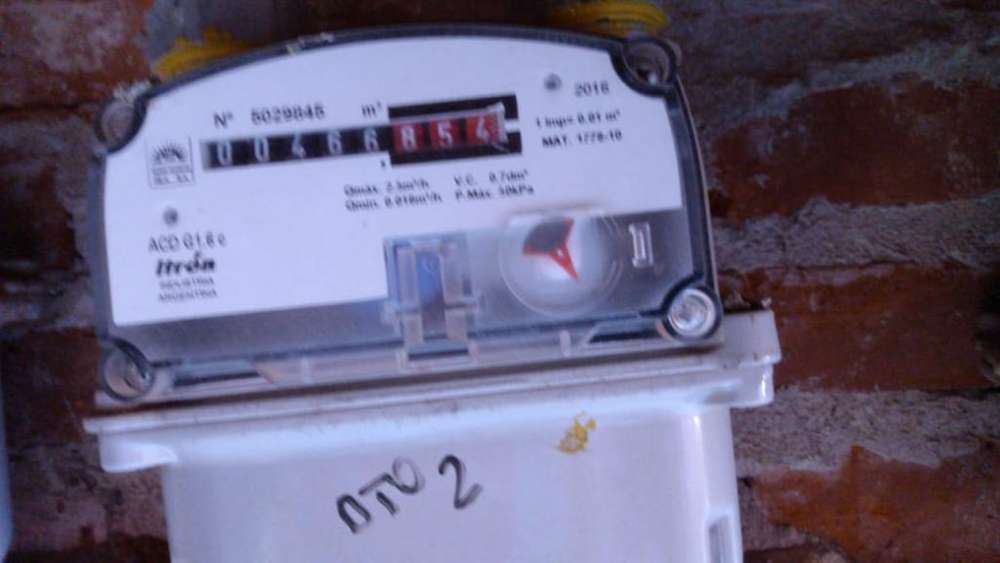 Medidor Interno de Gas
