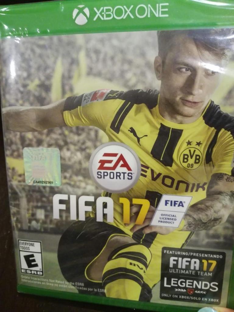 Vendo Juego FIFA17 xbox one nuevo sellado