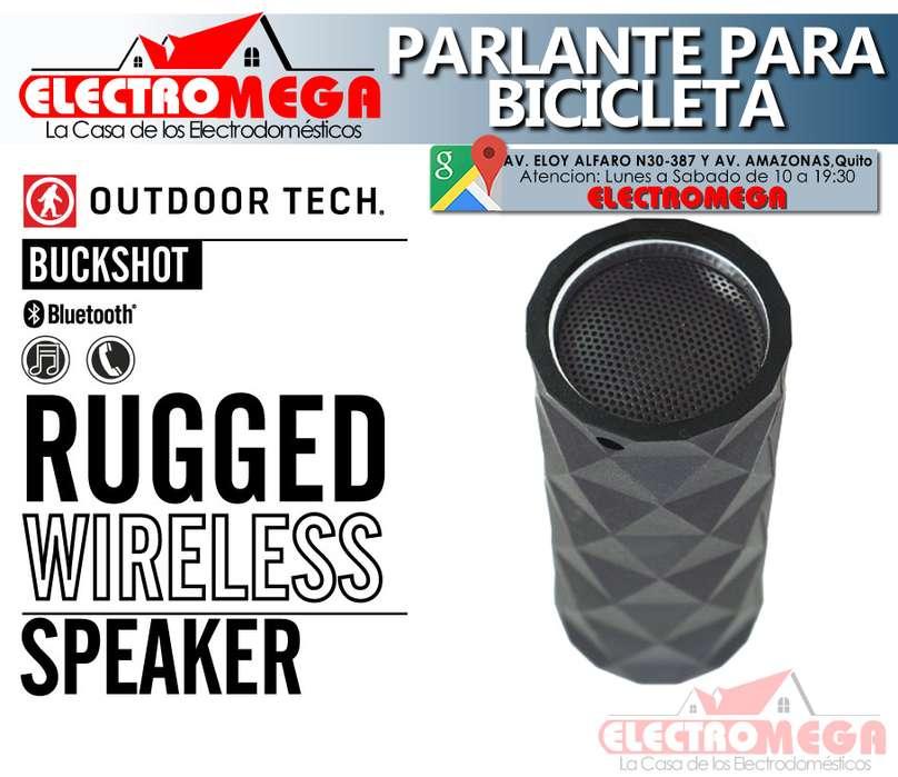 Parlante Para Bicicleta Outdoor Tech Buckshot Con Bluetooth