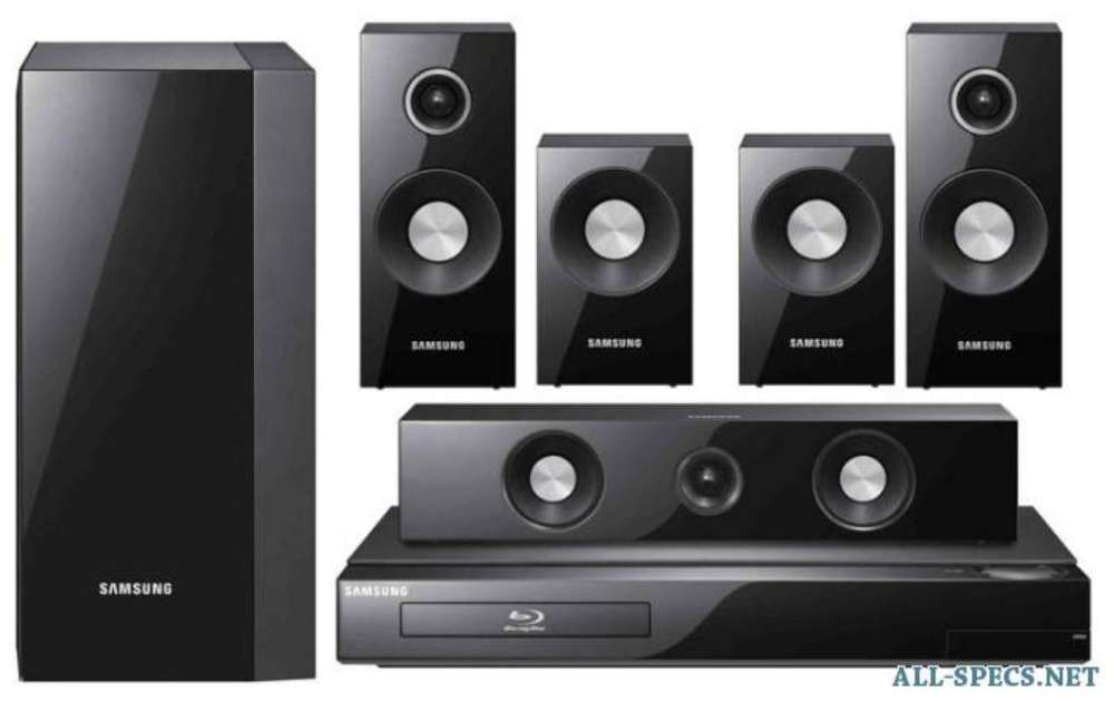 Home Theater Blu-ray Samsung 5.1