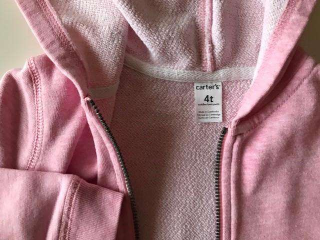 Campera Carters Talle 4