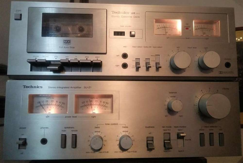 Amplificador Technics SU Z1 japones 220v impecable