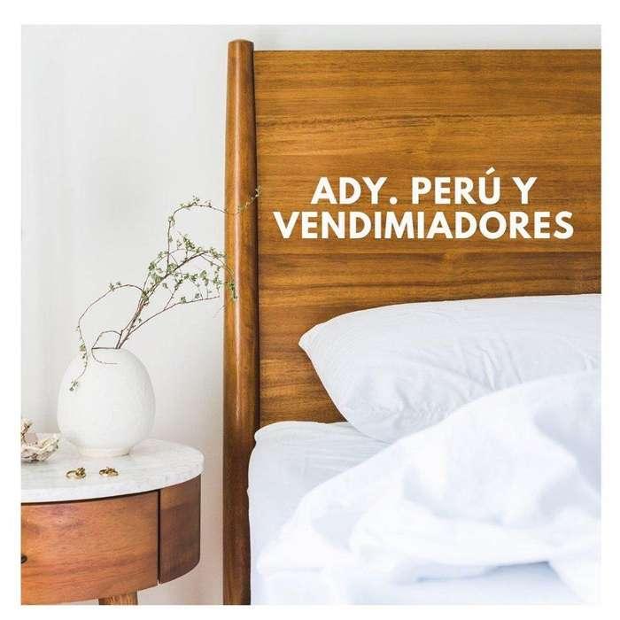 EN VENTA HERMOSO DPTO. ADY. PERÚ Y VENDIMAIDORES