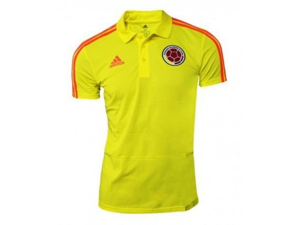 Camiseta Selección Colombia Roja, Amarilla, Azul 2019 Talla S a XL