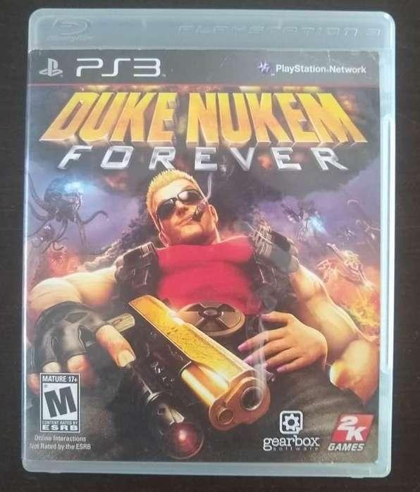 Duke Nukem Forever PS3 Fisico