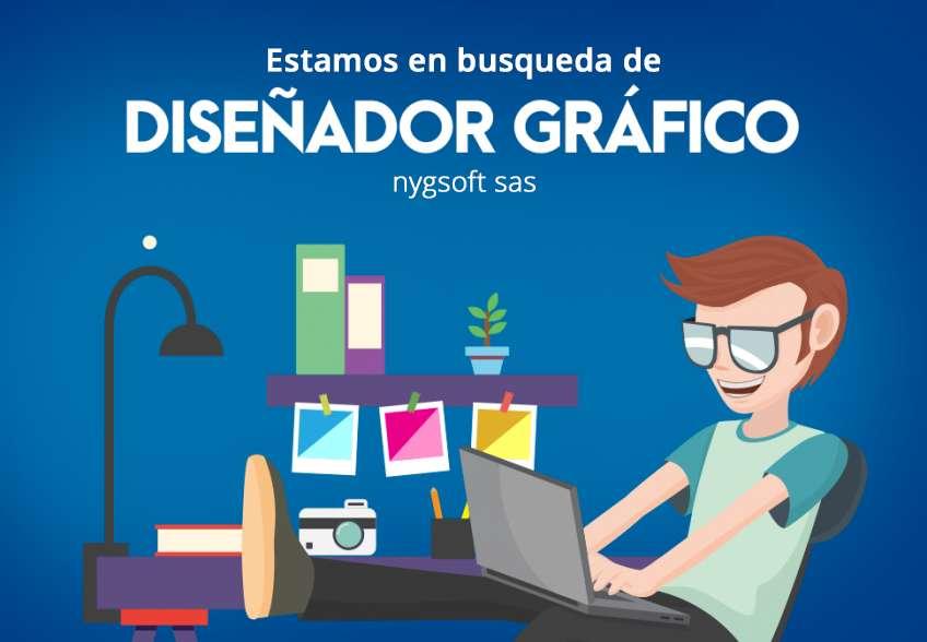 Buscamos: Diseñador Gráfico