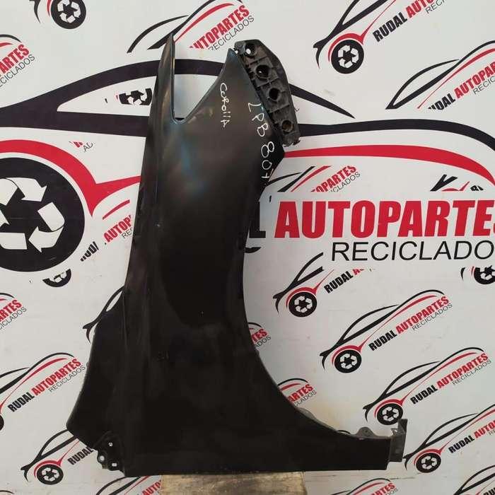 Guardabarro Delantero Derecho Toyota Corolla 3990 Oblea:01756601