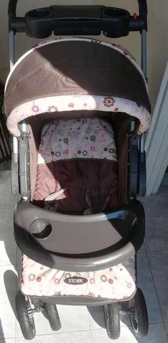 Coche con Porta Bebe Silla para Carro