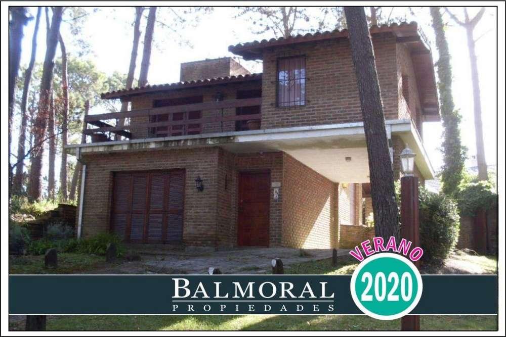 Ref: 8976 - Casa en alquiler, Pinamar - Zona Golf Nuevo