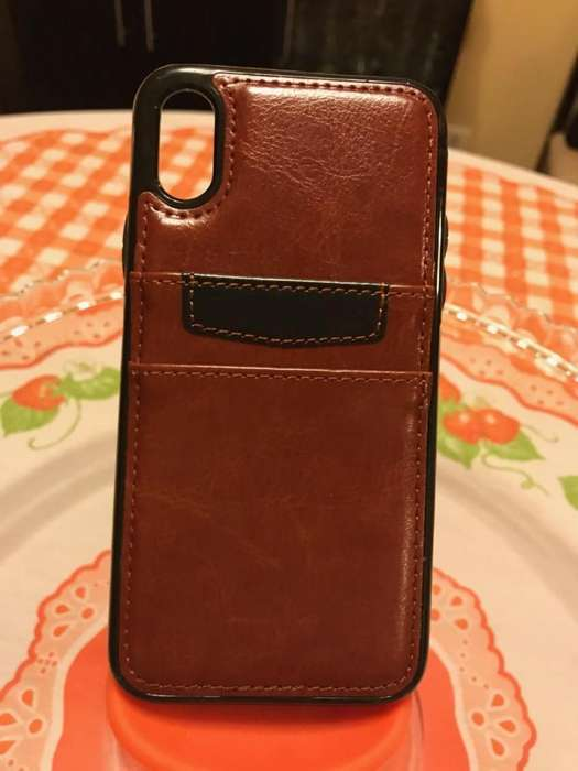 CASE IPHONE X LEATHER